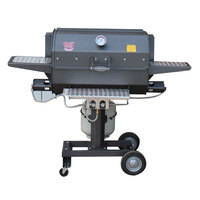 R & V Works CG-30 30 inch Smokin' Cajun Grill - 90,000 BTU, LP