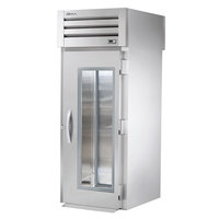 True STA1RRT-1G-1S Specification Series Roll Through Refrigerator with Front Glass Door and Solid Rear Door - 37 Cu. Ft.