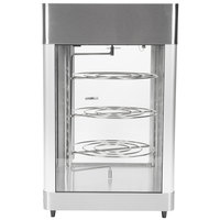 Star HFD2ACR 21 1/8 inch Humidified Pizza Display Case with Three 16 inch Pizza Racks
