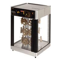 Star HFD2AP 21 1/8 inch Humidified Pretzel Display Case for 72 Pretzels
