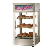 Star HFD2ASPT 21 1/8 inch Pass-Through Humidified Display Case with Three Adjustable Shelves