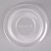 Dinex DX11820174 Classic Clear Disposable Lid for Dinex DXSWC5 5 oz. Tulip Cups - 1000/Case