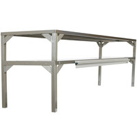 Delfield AS000-B3P-DTN Stainless Steel Double Overshelf - 64 inch x 16 inch