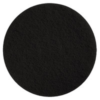 Scrubble by ACS 72-6 1/2 Type 72 6 1/2 inch Black Stripping Floor Pad - 10/Case