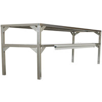 Delfield AS000-B3P-DT4 Stainless Steel Double Overshelf - 72 inch x 16 inch