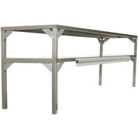 Delfield AS000-B3P-DTC Stainless Steel Double Overshelf - 60 inch x 16 inch