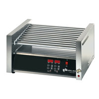 Star Grill Max Pro 30SCE 30 Hot Dog Roller Grill with Electronic Controls and Duratec Non-Stick Rollers