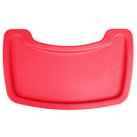 Rubbermaid FG781588RED Red Restaurant High Chair Tray