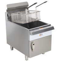 Cooking Performance Group CF30 Liquid Propane 30 lb. Countertop Fryer - 53,000 BTU
