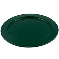 Bon Chef 2048HN 16 inch Hunter Green Sandstone Finish Cast Aluminum Round Platter