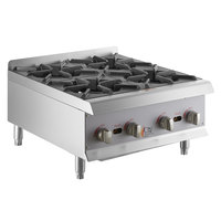 Cooking Performance Group HP424 4 Burner Gas Countertop Range / Hot Plate - 88,000 BTU