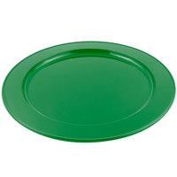 Bon Chef 2048 16 inch Sandstone Calypso Green Cast Aluminum Round Platter