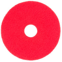 Scrubble by ACS 51-15 Type 55 15 inch Red Buffing Floor Pad   - 5/Case