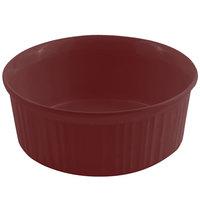 Bon Chef 5053 1.5 Qt. Sandstone Terra Cotta Cast Aluminum Casserole Dish