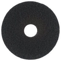 Scrubble by ACS 72-15 Type 72 15 inch Black Stripping Floor Pad - 5/Case