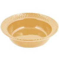 Bon Chef 2307 2.5 Qt. Sandstone Ginger Cast Aluminum Trellis Bowl