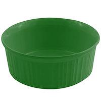 Bon Chef 5054 2.5 Qt. Sandstone Calypso Green Cast Aluminum Casserole Dish