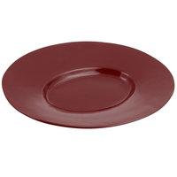Bon Chef 2090 19 inch x 16 inch Sandstone Terra Cotta Cast Aluminum Wide Rim Platter
