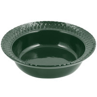 Bon Chef 2307 2.5 Qt. Sandstone Hunter Green Cast Aluminum Trellis Bowl