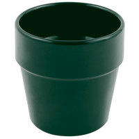 Bon Chef 9013 2 Qt. Sandstone Hunter Green Cast Aluminum Salad Dressing Pot