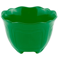Bon Chef 9060 1.5 Qt. Sandstone Calypso Green Cast Aluminum Garnish Bowl