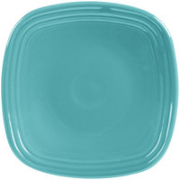 Homer Laughlin 921107 Fiesta Turquoise 7 1/2 inch Square Salad Plate - 12/Case