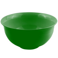 Bon Chef 9131 16 Qt. Calypso Green Sandstone Finish Cast Aluminum Tulip Bowl