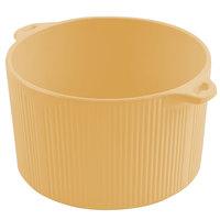 Bon Chef 9145 2 Qt. Sandstone Ginger Cast Aluminum Pot with Bail Handle