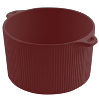Bon Chef 9145 2 Qt. Sandstone Terra Cotta Cast Aluminum Pot with Bail Handle