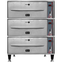 APW Wyott HDXi-3 Ease Extreme Digital 3 Drawer Warmer - 208V