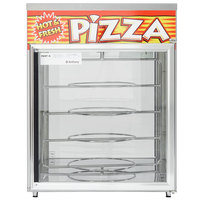 APW Wyott HDC-4P Pass-Through Heated Display Case with Four 18 inch Pizza Racks