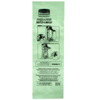 Rubbermaid FG9VMHBA12 Vacuum Bag for 12 inch and 15 inch Upright Vacuums   - 10/Pack