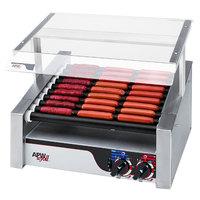 APW Wyott HRS-31S Non-Stick Hot Dog Roller Grill 19 1/2 inchW Slant Top - 208/240V