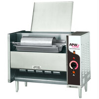 APW Wyott M-95-3 Vertical Conveyor Bun Grill Toaster with 3 inch Opening