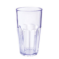 GET 9916-1-BL Bahama 16 oz. Blue Break-Resistant Plastic Tumbler - 72/Case