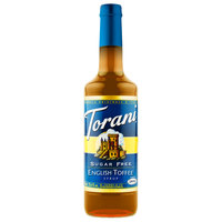 Torani 750 mL Sugar Free English Toffee Flavoring Syrup