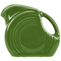 Homer Laughlin 475324 Fiesta Shamrock 5 oz. Mini Disc China Creamer Pitcher - 4/Case