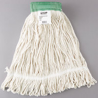 Continental A05002 24 oz. Poly/Cotton Loop End Wet Mop Head with 5 inch Band
