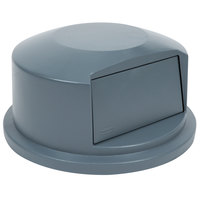 Rubbermaid FG264788GRAY BRUTE Gray Dome Top for FG264300 Containers 44 Gallon