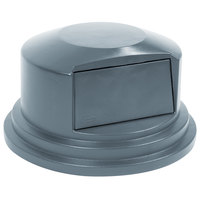 Rubbermaid FG265788GRAY BRUTE Gray Dome Top for FG265500 Containers 55 Gallon