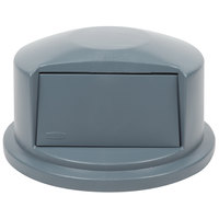 Rubbermaid FG263788 Brute Gray Dome Top for FG263200 Containers 32 Gallon (FG263788GRAY)