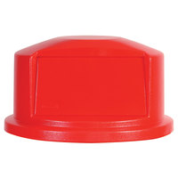 Rubbermaid FG264788 Brute Red Dome Top for FG264300 Containers 44 Gallon (FG264788RED)