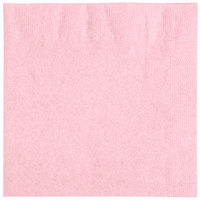 Choice 10 inch x 10 inch Customizable Pink 2-Ply Beverage / Cocktail Napkins - 1000/Case