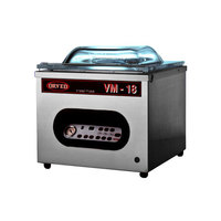 Orved VM18DT Chamber Vacuum Packaging Machine with 16 7/16 inch Seal Bar and Digital Controls