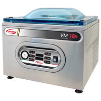 Orved VM18N Chamber Vacuum Packaging Machine with 16 7/16 inch Seal Bar and Digital Controls