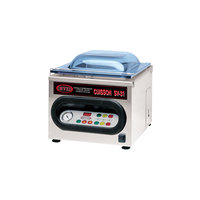 Orved SV31 Double Chamber Vacuum Packaging Machine with 12 1/4 inch Seal Bar and Vertical Tank