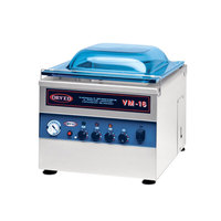 Orved VM16DT Chamber Vacuum Packaging Machine with 12 1/4 inch Seal Bar and Digital Controls