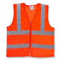Orange Class 2 High Visibility Safety Vest - XXL