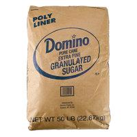 Domino Extra Fine Granulated Sugar - 50 lb.