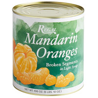 Regal Broken Mandarin Orange Segments - #10 Can